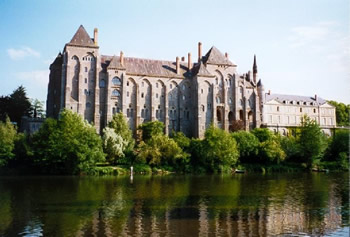 Abbey of St. Peter at Solesmes.