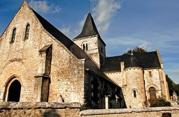 The Abbey of Saint Wandrille.