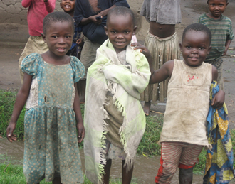 Children in the Congo.