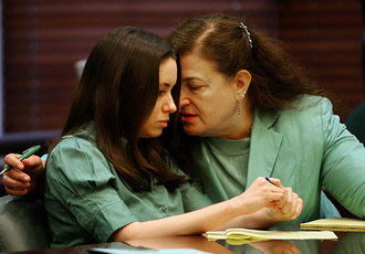 Lyon and defendant Casey Anthony.