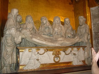 Burial of Christ, Cathédrale d'Auch (France).