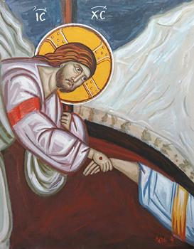 Byzantine Harrowing Of Hell Anastasis Of Christ