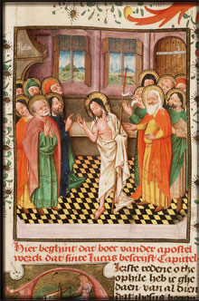 Easter Sunday 3B: The Risen Jesus Brings Consolation to His Apostles