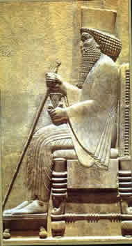 King Darius of Persia.