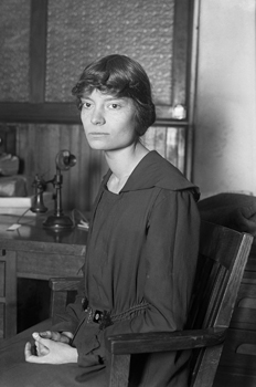Dorothy Day at age 19.