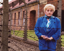 Eva Kor returns to Auschwitz.