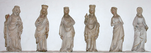 five wise virgins