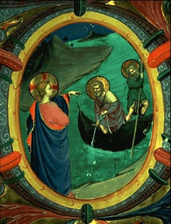 The Calling of Peter and Andrew by Fra Angelico, c. 1430.