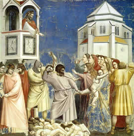Giotto, Slaughter of the Innocents, Scrovegni Chapel, Padua, c. 1305