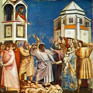 The Holy Innocents by Giotto di Bondone.