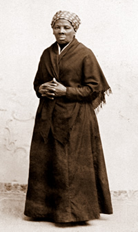 Harriet Tubman (1822-1913): Former slave and leader of the Underground Railroad who rescued 300 slaves.