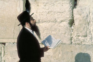 Hasidic Jew in Jerusalem.