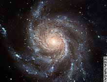 Hubble photograph of the Pinwheel Galaxy.