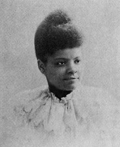 "Ida B. Wells (1862-1931): Civil rights leader and author of ""Southern Horror: Lynch Law in All Its Horror"" (1892)."