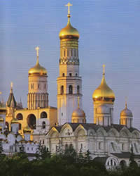 Orthodox churches, the Kremlin.