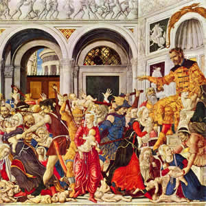 The Massacre of the Innocents at Bethlehem, by Matteo di Giovanni.