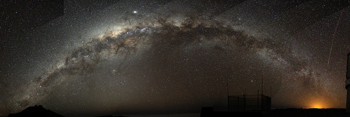 Our Milky Way galaxy seen from Chile.