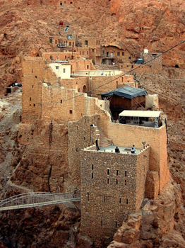 Monastery of Saint Moses the Abyssinian in Syria.