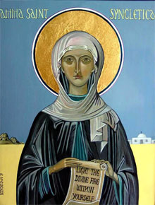 Mother Syncletica (4th century).