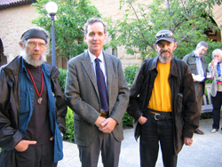 Norm Carroll (far left) at Stanford.