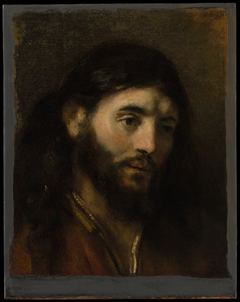 "Rembrandt's ""Head of Christ""."