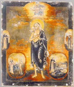 St. Mary of Egypt (4th century).