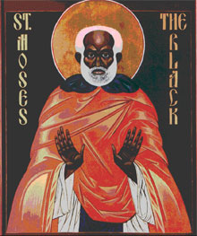 Saint Moses of Ethiopia (4th century).