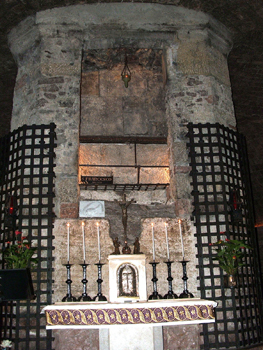 The final resting place of St. Francis in Assisi.