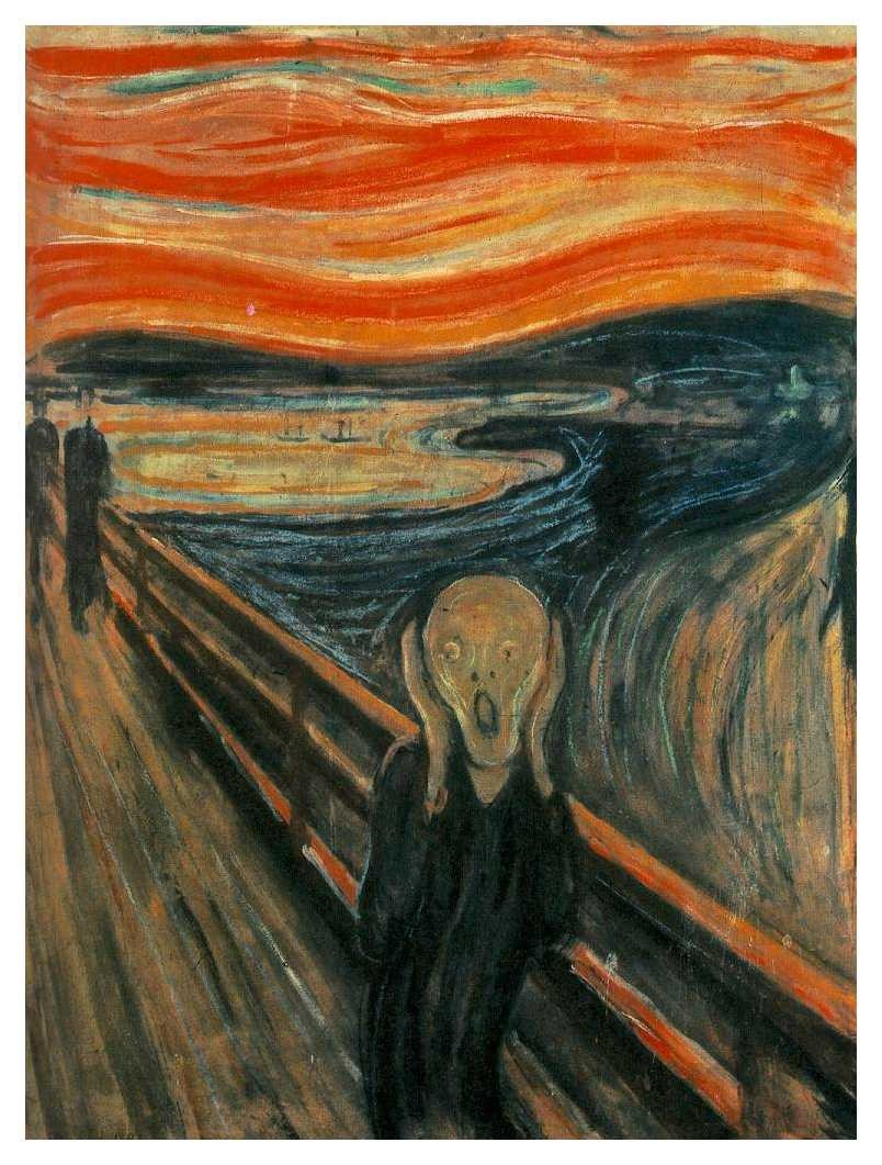 'The Scream' by Edvard Munch (1893)