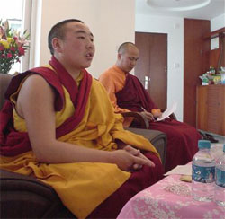 Tibetan Buddhists.