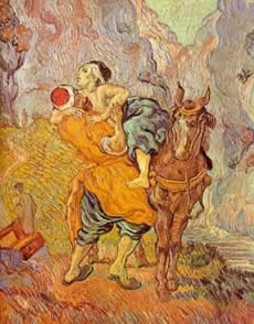 The Good Samaritan by Van Gogh.