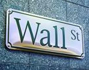 """Wall Street"" sign."