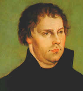 A younger Martin Luther.